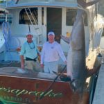 2019 - John Weiland & Capt Doug - swordfish