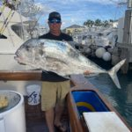 2020 - Rob Gothier snagged this 32 lb African Pompano while fishing in the Palm Beach inlet aboard BAR South !