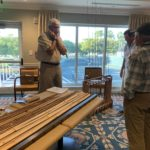 2020 Bill Tweardy making bamboo fly rods - Rod & Gun Get Together