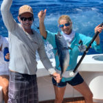 2020 - Wendy Brainard - Bonito - on Red Lion with Captain Brendon Muller