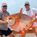2020 - Vanessa and Carl Lindner with 78 pound Opah!