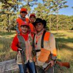 2020 - Letty & Ignacio Borbolla - Quail Hunting with Granddaughters in Sheldon, SC - 1