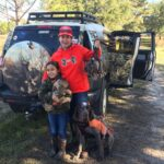 2020 - Letty & Ignacio Borbolla - Quail Hunting with Granddaughters in Sheldon, SC - 3