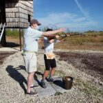 2021 - Vic and Finn Falk at Skeet Range