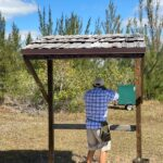 2021 - Doug Hynden shooting sporting clays on a beautiful day at the Range.